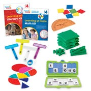 Learning at Home Math & Literacy, Grade 4