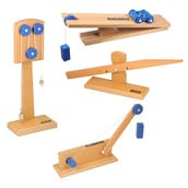 Simple Machines Models Set, Set of 4