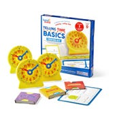 Telling Time Basics, Center Kit