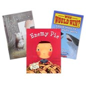 Reading Comprehension Summarizing & Synthesizing Book Collection (5 Books), Grades 2-3
