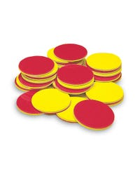 Plastic Two Color Counters, Set of 200