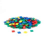 Plastic Color Tiles, Set of 400