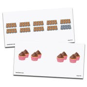 Picture and Dot Cards, Multiplication