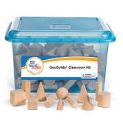 Wooden GeoSolids® Classroom Kit, Set of 96