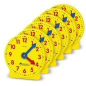 Gear Clock, 4 Inch - Set/6