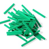 Green Foam Base Ten Rods, Set of 50