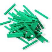 Green Foam Base Ten Rods, Set of 50