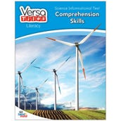 VersaTiles® Literacy Book: Science Informational Text: Comprehension Skills, Grade 4