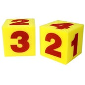 "5"" Foam Numeral Dice, Set of 2"