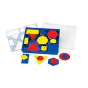 Attribute Blocks Desk Set, Set of 60