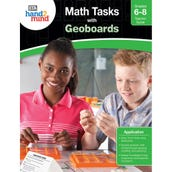 Math Tasks Geoboards Books, Grades 6-8