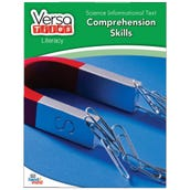VersaTiles® Literacy Book: Science Informational Text: Comprehension Skills, Grade 3