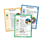 Differentiated Math Centers, Grade 2 Length, Time, Money, and Shapes Card Set