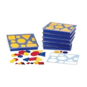 Attribute Blocks Classroom Kit, Set of 6