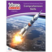 VersaTiles® Literacy Book: Science Informational Text: Comprehension Skills, Grade 6