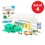 Individual Student Manipulative Kits, Grades K-2, Set of 4