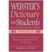 Webster's Dictionary for Students, 5th Edition