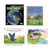 Social Studies Geography Book Collection (7 Books), Grades K-1