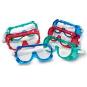 Rainbow Safety Goggles, Set of 6
