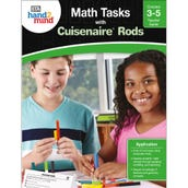 Math Tasks Cuisenaire® Rods Book, Grades 3-5