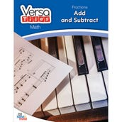 VersaTiles®Math Book: Fractions: Add and Subtract
