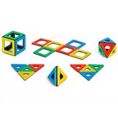 Magnetic Polydron Class Set