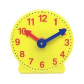 Geared Student Clock 4""