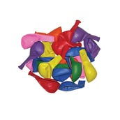 """Balloons, Round 9"""", Assorted Colors, Set of 25"""