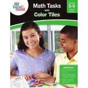Math Tasks Color Tiles Books, Grades 3-5