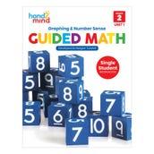 Guided Math Single Student Workbook, Grade 2, Unit 1