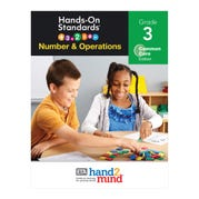 Hands-On Standards®, Number & Operations, Common Core Edition, Grade 3, Teacher Resource Guide
