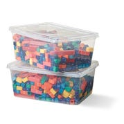 Fraction Tower® Equivalency Cubes Classroom Kit, Set of 30