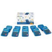 Primary Calculator Set, Set of 10