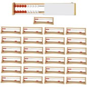 Rekenrek 20-Bead Plastic, Class Set of 25 with Demo Frame