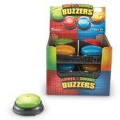 Lights & Sounds Answer Buzzers, Set of 12