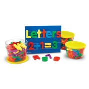 Jumbo Magnetic Letters & Number Combo Set (116 Pc)