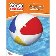 VersaTiles®Math Book: Geometry: Shapes and Attributes, Grade 1