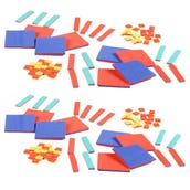 Foam Algebra Tiles Classroom Kit, Set of 30