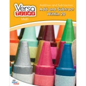 VersaTiles®Math Book: Addition and Subtraction: To 20 and Beyond