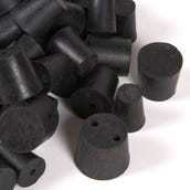 Stoppers: Rubber, Set of 66