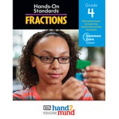 Hands-On Standards, Common Core Fractions Teacher's Resource Guide, Grade 4
