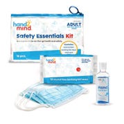 Safety Essentials Kit with Adult-Size Mask