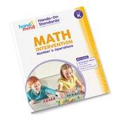 Hands-On Standards® Math Intervention: Number & Operations, Grade K