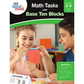 Math Tasks Base Ten Blocks Book, Grades 3-5
