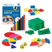 Hands-On Standards® Learning at Home Math Kit, Grade 5