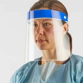 Disposable Face Shields, Pack of 10