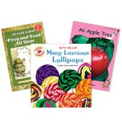Reading Comprehension Activating Background Knowledge Book Collection (5 Books), Grades K-1