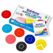 Rainbow Angle Circles, Classroom Kit