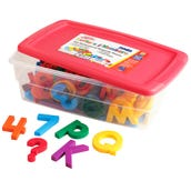 Jumbo Multicolored  Alpha And Mathmagnets®Set Of 100)