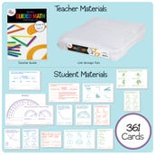 Guided Math Kit, Grade 4 - Unit 7: Geometry